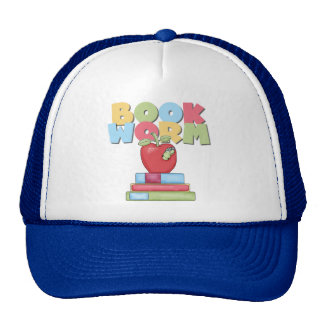 Book Worm Tshirts and Gifts Trucker Hats