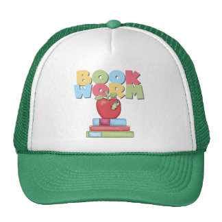 Book Worm Tshirts and Gifts Mesh Hats