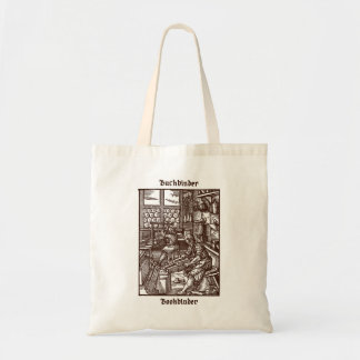 Bookbinder – From Das Ständebuch/Book of Trades Tote Bag
