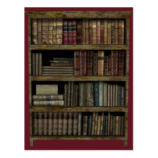 Bookcase Postcard