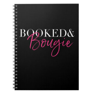 Booked & Bougie Notebook