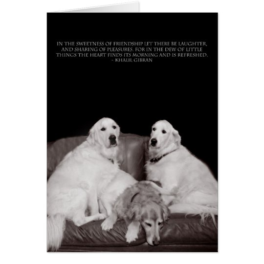 Bookends Gibran Poster Card