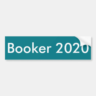 Booker 2020 Bumper Sticker