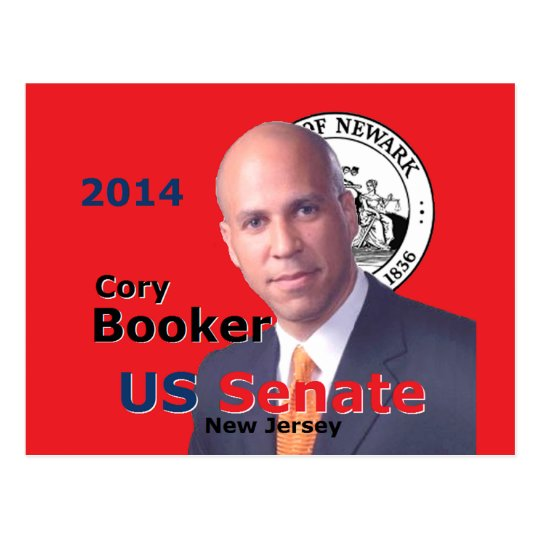 Booker Senate 2014 Postcard