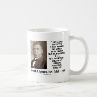 Booker T. Washington Obstacles Overcome Succeed Coffee Mug