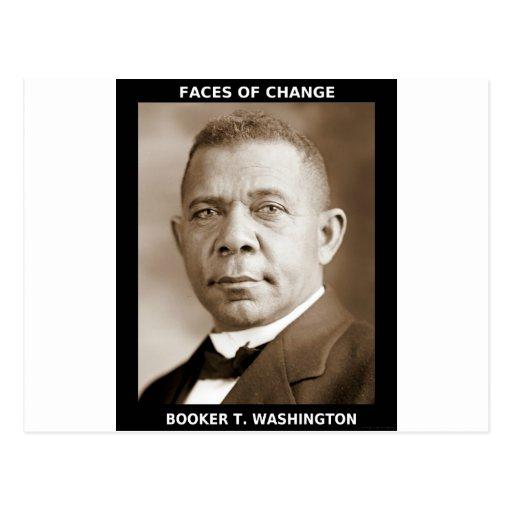 Booker T. Washington Post Card