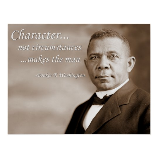 Booker T. Washington Poster