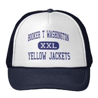 Booker T Washington - Yellow Jackets - Montgomery Hat
