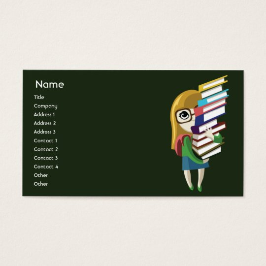 Bookgirl - Business Business Card