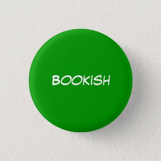Bookish 3 Cm Round Badge