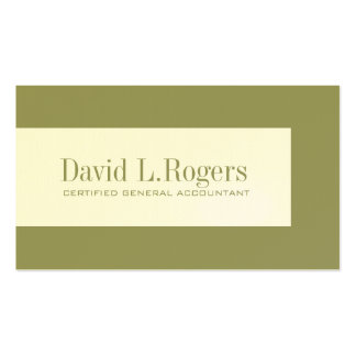 Bookkeeper Business Cards