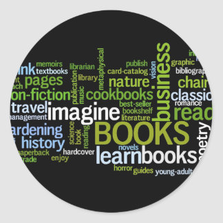 Booklovers Favorite Genres Bookplate Stickers