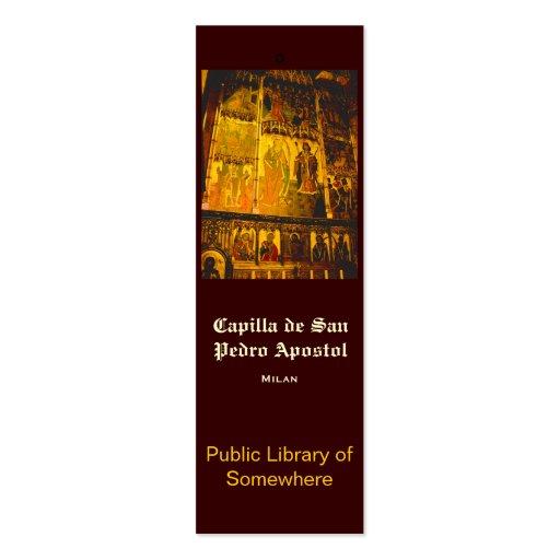 Bookmark - Capilla de San Pedro Business Cards