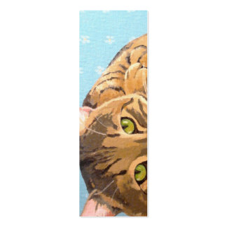 BOOKMARK - Cat Pack Of Skinny Business Cards