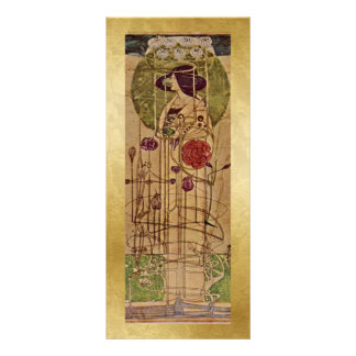 Bookmark Gift Card - by Charles Rennie Mackintosh Personalized Rack Card