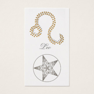 Bookmark Leo (zodiac sign) Business Card