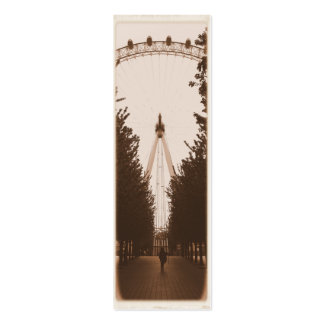 Bookmark - London Eye - Pack of 20 Business Card Templates