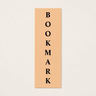 Bookmark Mini Business Card