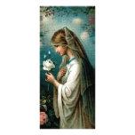 Bookmark: Mystical Rose Rack Card Template