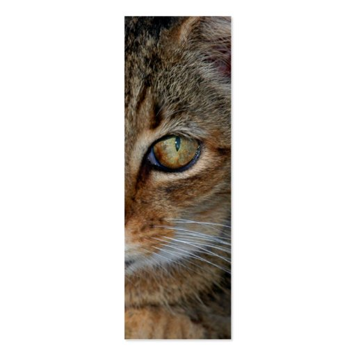"""Bookmark or profile card """"Cats Rule"""" Business Card"""