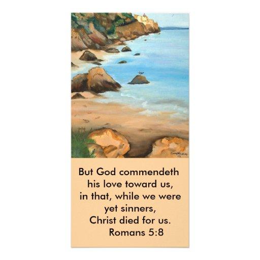bookmark Romans 5:8 Photo Card