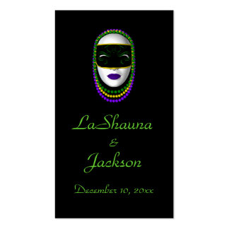 """Bookmark - """"Thank you..."""" Woman of Mystery Pack Of Standard Business Cards"""