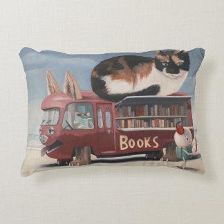 Bookmobile Decorative Cushion