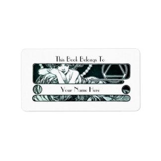 Bookplate Address Label