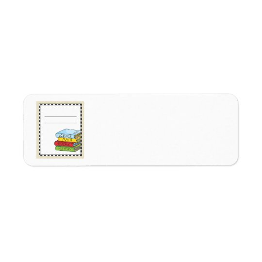 Bookplate Classroom Return Address Label
