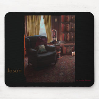 Books and a good chair - Mousepad