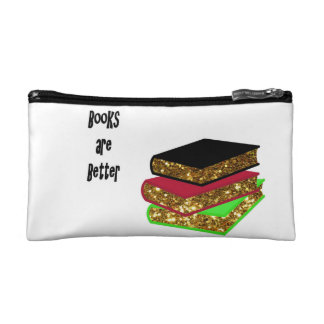 Books are Better double-sided Cosmetic Bag