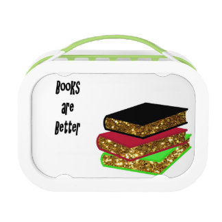 Books are Better double-sided Lunch Box