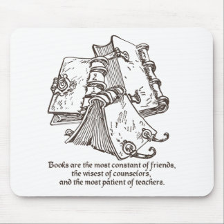Books are Constant Mouse Pad