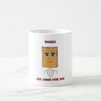 Books Are Good For You Coffee Mug