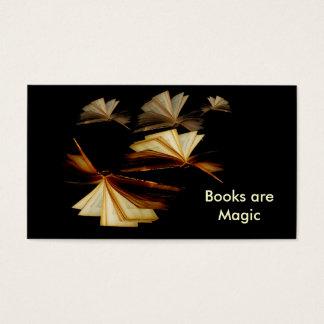 Books are Magic Business Card