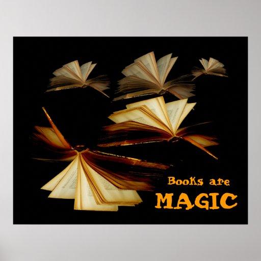 Books are magic posters