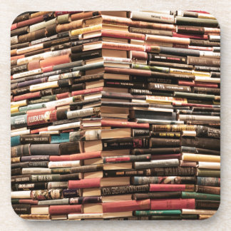 Books Beverage Coasters