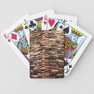 Books Bicycle Playing Cards