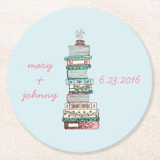 Books & Blossoms Coasters