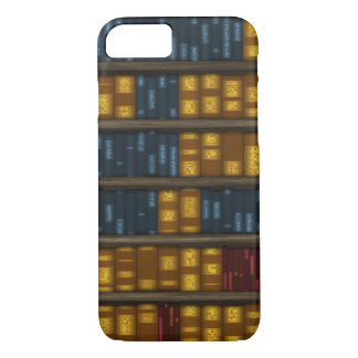 Books, Books, Books - Bookshelf Pattern iPhone 7 Case