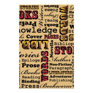 Books Books Books! Customised Stationery