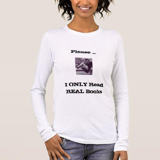 books bookstore t-shirt women's
