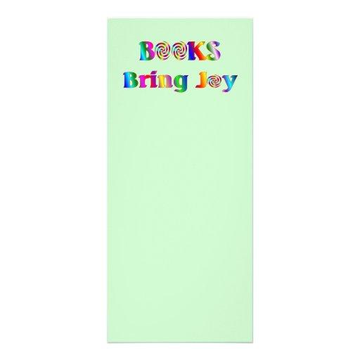 Books Bring Joy Full Color Rack Card