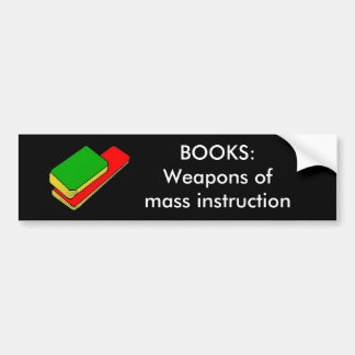 BOOKS - bumper sticker