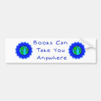 Books Can Take You Bumper Stickers