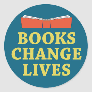 Books Change Lives Stickers