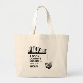 BOOKS COMMIT SUICIDE BAG