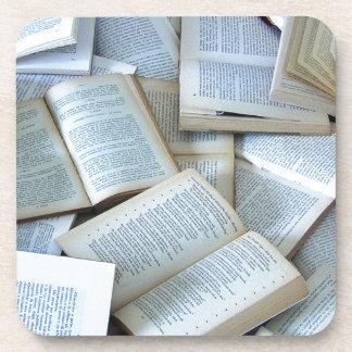 Books Beverage Coaster