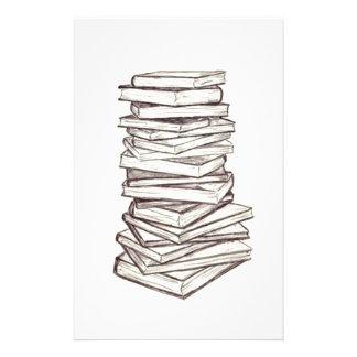 Books Custom Stationery