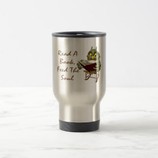 Books Feed The Soul Wise Owl Coffee Mug